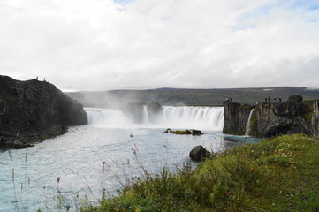 Godafoss, waterfall in Iceland