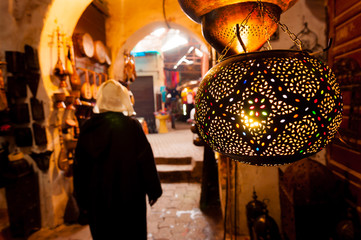 Lantern Shop Marrakech Souk