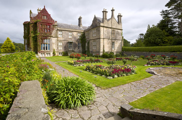 Muckross House and gardens in National Park Killarney, Ireland.