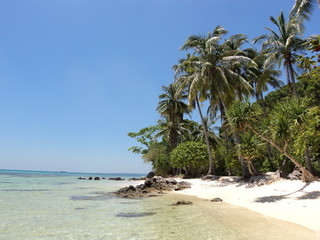 Beach and Island of Karimunjawa Indonesia