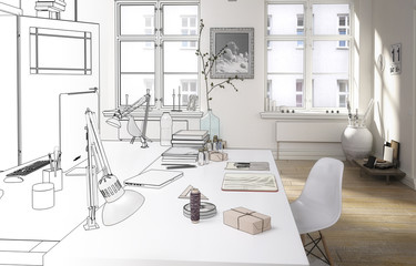 Personal Office (drawing)