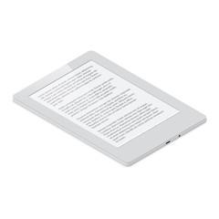 E-Book detailed isometric icon