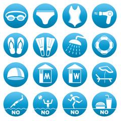 Swimming Pool icons