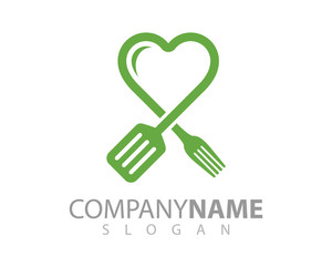 Food logo - cooking logo - restaurant logo - chef logo