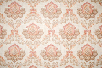 Paper wallpaper with textured patterns