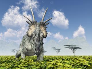 Dinosaur Styracosaurus