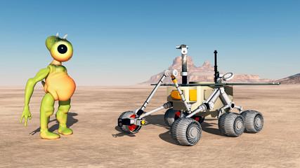 Entdeckung auf dem Mars