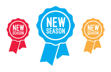 New Season Ribbons