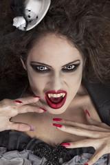 Sexy make up vampire