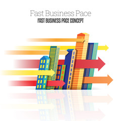 Fast Business Pace