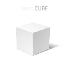 White box isolated