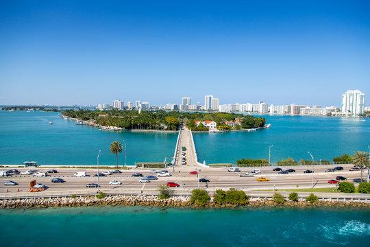 Star Island - Miami MacArthur Causeway A1a