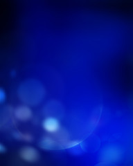 Blue lights abstract background