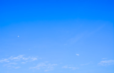 image of blue sky white clouds