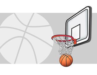 Basketball illustration