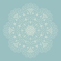 Mandala. Ethnic decorative elements. Hand drawn background. Isla
