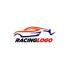 Racing Logo Template