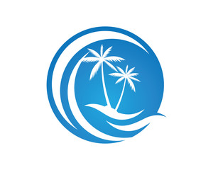 C wave Logo Template