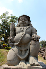 Temple bouddhiste Candi Sewu, yogyakarta, java, indonésie