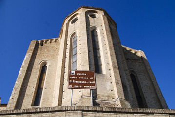 Abside chiesa San Francesco - Fermo - Marche