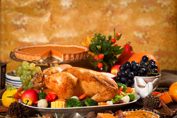 Rustic Thanksgiving Dinner