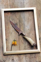 Das Bildnis eines alten Messers