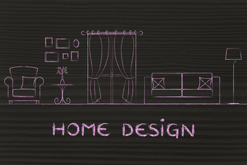 concept of home design
