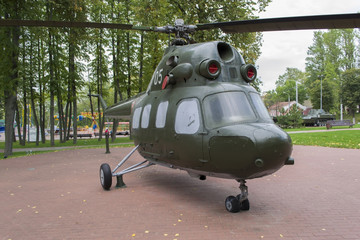 Mi-8 helicopter of the Soviet Army