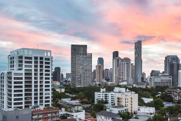 Bangkok modern skyline