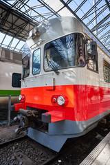 Train in Helsinki Railway station