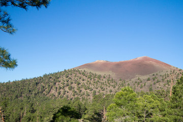 Sunset Crater Volcano National Monument near Flagstaff, Arizona