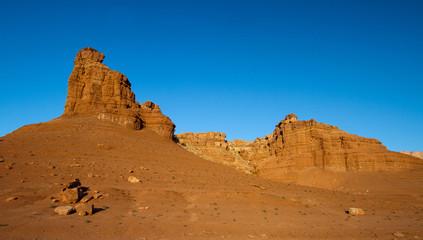 Vermilion Cliffs National Monument in the Arizona Strip at dawn