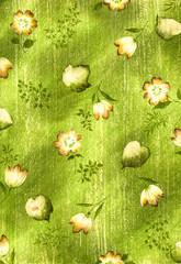 수채화 텍스츄어 배경의 작은 꽃