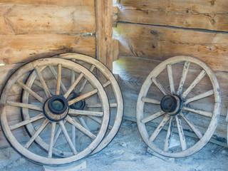 Wooden cartwheels