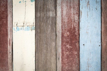 Vintage wooden wall