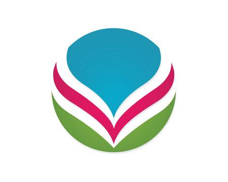Healthy beauty Logo template
