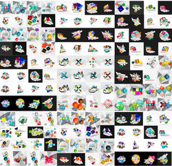 Mega collection of infographic