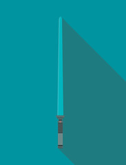 vector illustration lightsaber