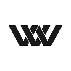 VVV or WV Initial Logo