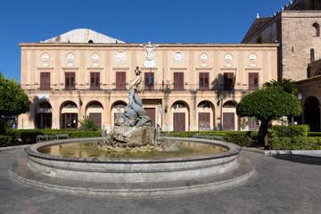 MONREALE (Italy) - Monreale City palace
