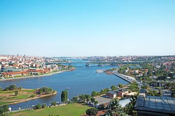 Das Goldene Horn (Haliç) in Istanbul