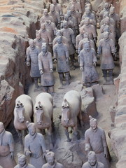 Tuinposter Xian Terrakotta Armee in X'ian