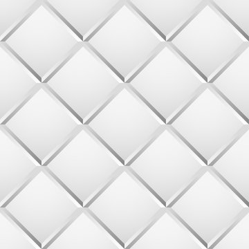 Seamless, repeatable patterns with beveled squares. Abstract gra