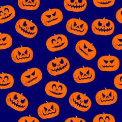 Halloween, wrapping paper, jack-o'-lantern pumpkin