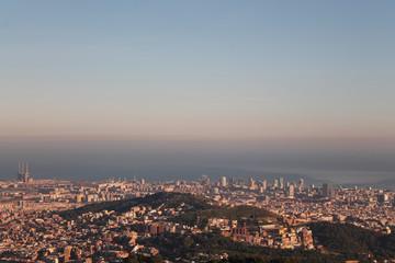 Hills in Barcelona