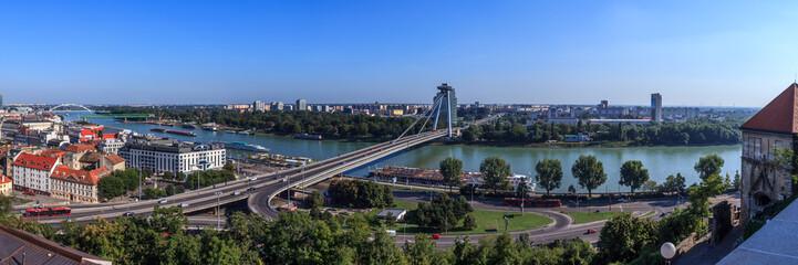 Panoramic view Bratislava, Slovakia