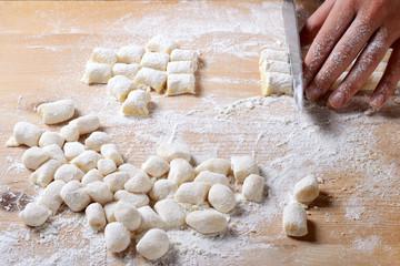 Potato gnocchi homemade / Gnocchi di patate fatti in casa