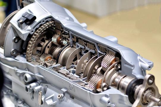 Car transmission.