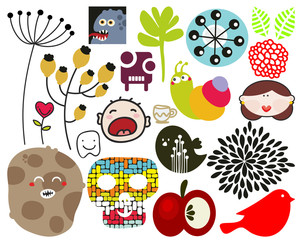 Mix of vector images. vol.70