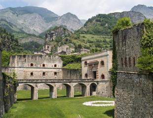 Fortress of Vinadio (Piedmont, Italy)